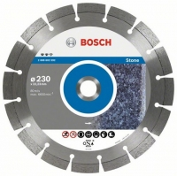 Круг алмазний Bosch Expert for Stone 230 x 22,23 x 2,4 x 12 mm