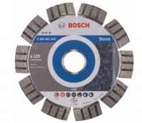 Круг алмазний Bosch Best for Stone 125 x 22,23 x 2,2 x 12 mm