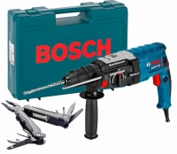 Перфоратор Bosch GBH 2-28 F + Swiss Peak Multitool (0615990L0F)