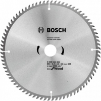 Пильный диск Bosch Eco for Wood 254x3,0x30-80T (2608644384)