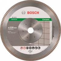 Алмазный круг Bosch Best for Ceramic Extraclean Turbo, 230×22,23×1,8 мм (2608603597)