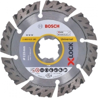 Алмазный диск Bosch X-Lock Best for Universal 115x22,23x2,4x12 мм (2608615160)